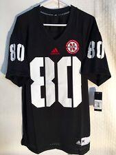Adidas NCAA Jersey Nebraska Huskers #80 Black sz M