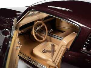1965 FORD MUSTANG 2+2 BURGUNDY MET. ANNIVERSARY 1:18 SCALE BY AUTOWORLD AMM1248