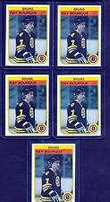1982-83 O-Pee-Chee OPC RAY BOURQUE LOT OF 5 Hockey Cards #7 Boston Bruins