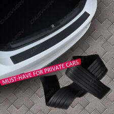 Parts Accessories Rubber Car Rear Bumper Protector Trim Strip Trunk Sill Guard Fits Isuzu