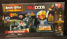 Angry Birds Star Wars Telepods Star Destroyer Set Figures w QR To play with APP