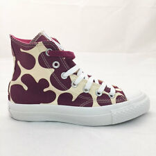 CONVERSE marimekko WOMENS CHUCK TAYLOR PREMIUM SHOES SZ:5.5 PURPLE/CREAM 15685