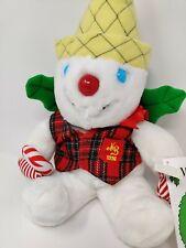 "Vintage Mr. Bingle 1996 Christmas Snowman Plush 18"" With Story Tag"