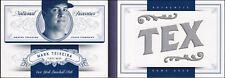 2012 National Treasures Nicknames Jumbo Jersey Booklet #14 - Mark Teixeira [/99]