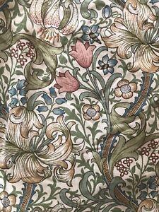 Vintage William Morris Golden Lily Curtains 200cm (length) x 285cm (width)