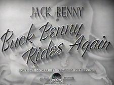 BUCK BENNY RIDES AGAIN (DVD) - 1940 - Jack Benny,Ellen Drew