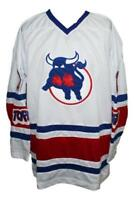 Any Name Number Size Toronto Toros Custom Retro Hockey Jersey White