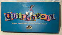Quiltopoly - Family Board Game - Vintage Property Trading Like Monopoly 1996 DMC