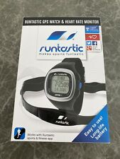 New opened Runtastic GPS Sports Watch With Heart Rate Monitor, handlebar mount