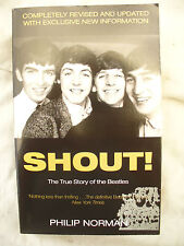 BOOK SHOUT BEATLES by PHILIP NORMAN PAPERBACK ....NEW!