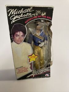 LJN Michael Jackson Grammy Awards Outfit Michael Jackson Doll - Box Damaged
