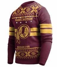 Washington Redskins NFL FOCO Men's Burgundy/Gold Light-up Ugly Christmas Sweater