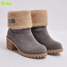 Grau  Fur Lined Stiefel    Grau  6413a5