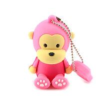 Mono Monkey Pink-stick USB 8 gb de memoria USB Flash Drive