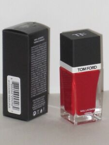 TOM FORD NAIL LACQUER # 01 FUXXXIN FABULOUS 12 ml. MADE IN FRANCE. NEW WITH BOX!