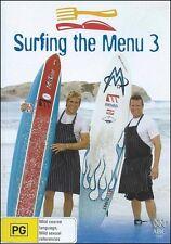 Surfing the Menu Curtis STONE Ben O'DONOGHUE Cooking TV Series 3 (2 DVD SET) NEW
