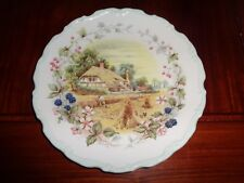 Royal Albert Collectors Plate AUTUMN From THE COTTAGE GARDEN YEAR SERIES