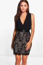 Party Lace Dresses for Women with Pleated