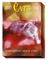Cats Inspirational Oracle Cards + Book by Barbara Moore Lo Scarabeo  Torino