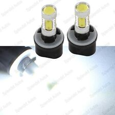 2 pc 7W High Power Xenon White 880 881 LED Bulbs For Car Fog Lights or Driving