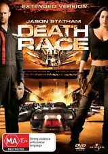 Death Race (DVD MOVIE, 2009) UNCUT EXTENDED VERSION - REGION 4 - FREE POSTAGE