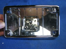 EP8765 Harley chrome rear lay down license plate mount