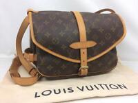 """Auth Louis Vuitton Monogram Saumur 30 Shoulder Bag 7L220510r"""""""