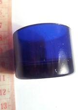 VINTAGE di ricambio blu cobalto vetro Liner sale o Pepper Pot 25mm x 37mm