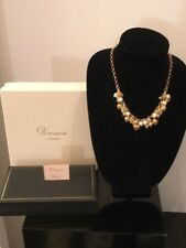 Veronese Etrusca Collection Culture Pearl & Beaded Charm Necklace! Adjustable!