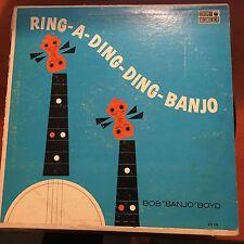 """Bob """"banjo"""" Boyd-ring A Ding Ding Banjo-lp-mono-coronet"""