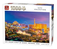 1000 Piece City Jigsaw Puzzle Las Vegas Strip At Night Nevada USA Casino 05705