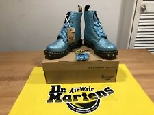 Dr.Martens 1460 PASCAL GLITTER TURQUOISE  Boots! UK4! New! Only £109,90!!!