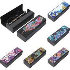Butterfly Flower Glasses Case Diy 5D Diamond Painting Craft Art Creative Case
