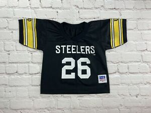 VINTAGE Pittsburgh Steelers Rod Woodson #26 Wilson Football Jersey Toddler 3T