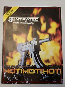 Vintage 1988 Intrarec Catalog Tec-9 Tec-22 Companion Derringer Brochure