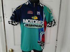 Santini Motorex Bianchi Cycling Jersey XXL Woman 52