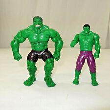 2003 Toybiz Marvel Legends Face Off Open Mouth Green Hulk 6 Inch Action Figure