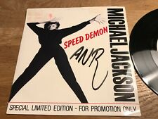 "MICHAEL JACKSON ""SPEED DEMON"" 1989 SPECIAL LIMITED EDITION - FOR PROMOTION ONLY*"