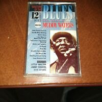 1990 THE BEST OF MUDDY WATERS CASSETTE TAPE! Telstar Records– TST-3504