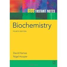 BIOS Instant Notizen in Biochemie-Taschenbuch NEU HAMES, David 2011-03-31