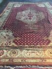 12x18 Antique Oushak Fine Hand-Knotted Wool Rug Carpet Distressed