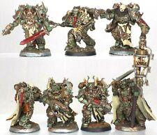 40K Warhammer Nurgle Death Guard Chaos Marines Dark Vengeance Chosen (Converted)