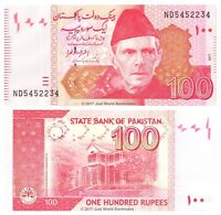 Pakistan 100 Rupees 2017 P-New Banknotes UNC