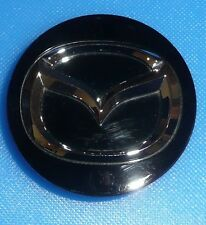 Mazda 3 5 6 CX-7 CX-9 RX-8 Black and Chrome Wheel Center Cap P/N: BBM2 37 190