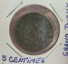 LUXEMBOURG - BEAUTIFUL HISTORICAL WILLIAM III 5 CENTIMES, 1870 (u), KM# 22.1
