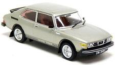 IXO Models CLC343N Saab 99 Turbo Coupe 1977 silber grau metallic 1:43