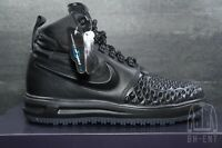 Nike Lunar LF1 Air Force 1 Duckboot Black Anthracite Boots 916682-002 Size 9.5