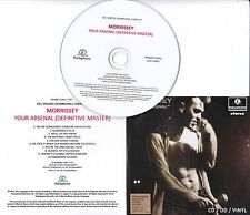 MORRISSEY Your Arsenal 2014 UK remastered 10-track promo test CD + press release