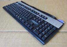 HP SK-2880 Black Silver Keyboard PS2 Wired QWERTY 382925-031