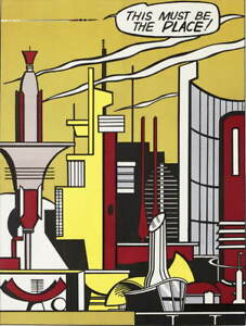 Roy Lichtenstein Efter This Must Fullsize Giclee Paper Print Poster Reproduction